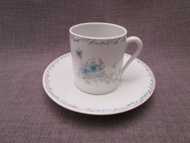 tasse a caf en porcelaine de limoges marne antic. Black Bedroom Furniture Sets. Home Design Ideas